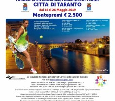 Locandina Open 2019